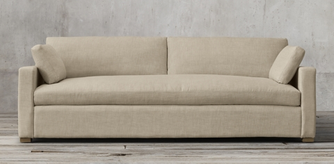 Track Arm Sofa Belgian Track Arm Slipcovered Collection Rh