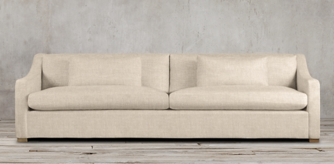 restoration hardware sectional sofa linen recliner leather covers belgian classic slope arm upholstered collection rh sofas starting at 2095 regular 1571 member