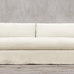One Arm Sofa Slipcover Creative Sofas Perth Belgian Track Slipcovered Collection Rh