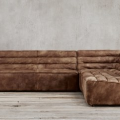 Leather Sectional Sofa Restoration Hardware Simmons Soho Collections Rh Chelsea Collection