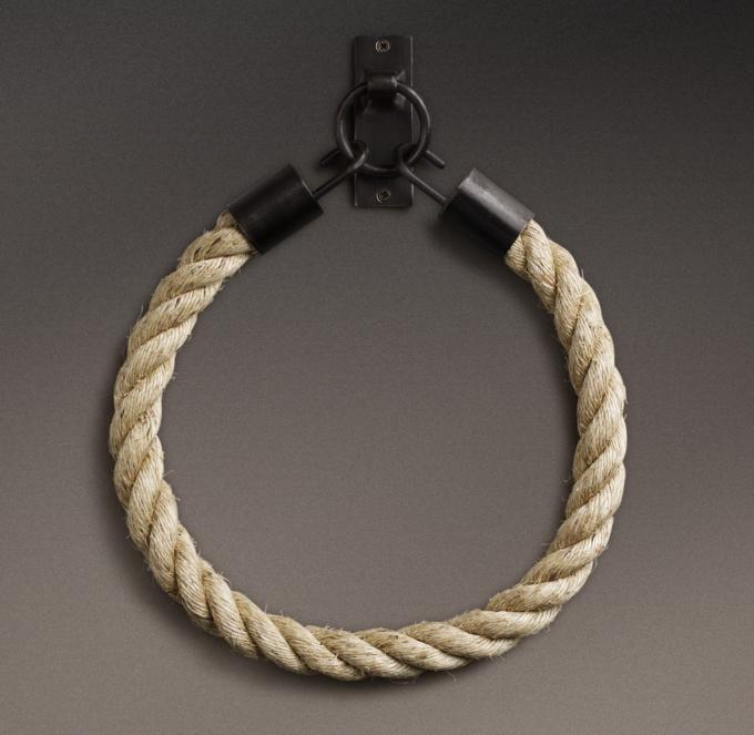 Dakota Natural Rope Tieback Soft Iron