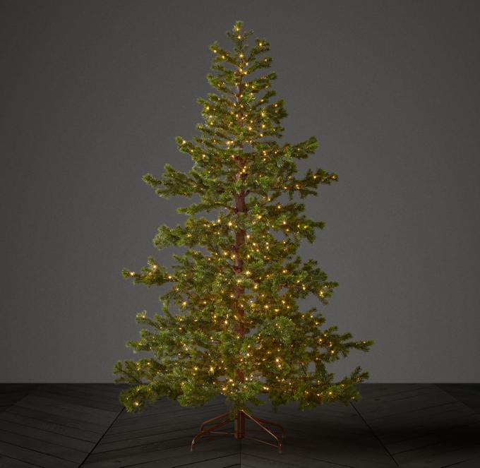 Faux Shasta Fir Starlit Tree With Illuminate Technology 6