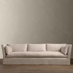 Belgian Shelter Arm Sofa Modular Beds Slipcovered
