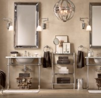 Restoration Hardware Bathroom Mirrors With Cool Pictures ...