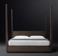 Modern Four Post Bed - Home Design