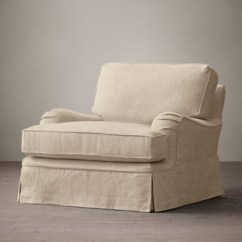 English Roll Arm Chair And A Half Karlstad Cover   Zef Jam