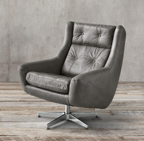office club chairs black and white leather dining rh 2 finishes