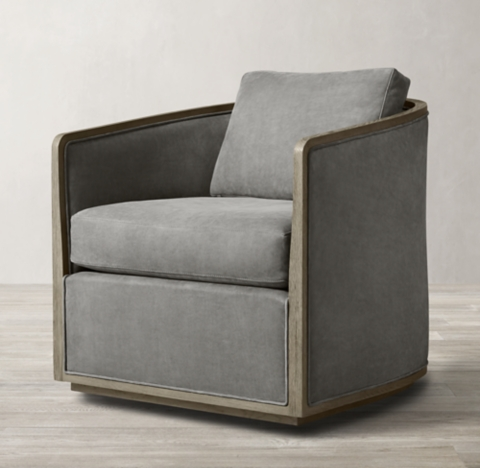 reclining club chair desk light blue chairs rh dixon leather swivel