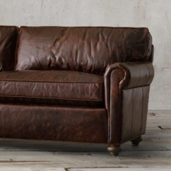 Rh Lancaster Leather Sofa Hess Room And Board 112