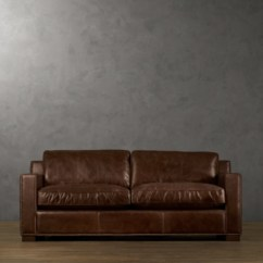 Vintage Leather Sofa Company Sofas Sets On Sale 6' Collins With Nailheads
