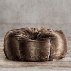 Restoration Hardware Beanbag Chair Hair Washing Luxe Faux Fur Bean Bag Collection Rh
