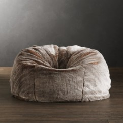 Restoration Hardware Beanbag Chair Chaise Lounge Chairs Luxe Faux Fur Bean Bag Collection Rh