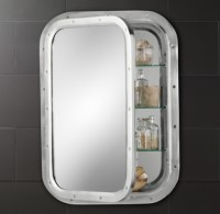 Submarine Inset Medicine Cabinet