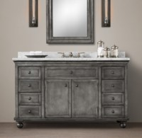 27 Elegant Restoration Hardware Bathroom Vanities | eyagci.com