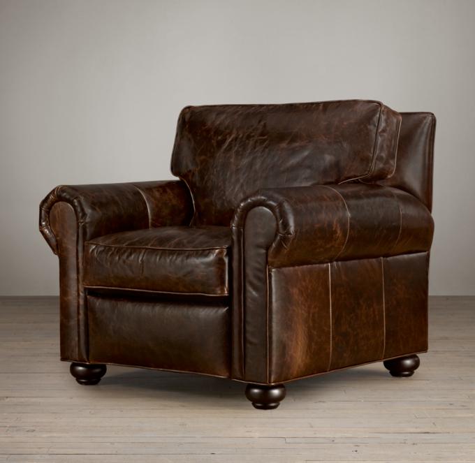 Original Lancaster Leather Recliner