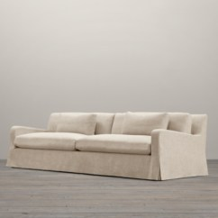 Two Cushion Sofa Slipcover Seating Belgian Slope Arm Two-seat-cushion Replacement Slipcovers