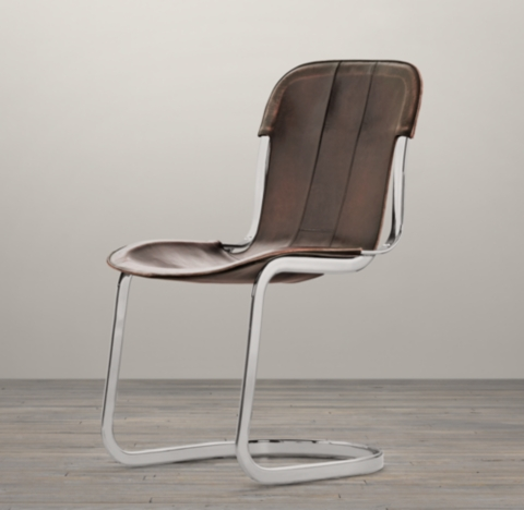 Rizzo Leather Side Chair