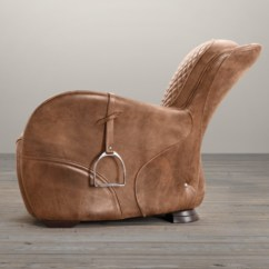 Horse Saddle Seat Chair Office Viking Equestrian
