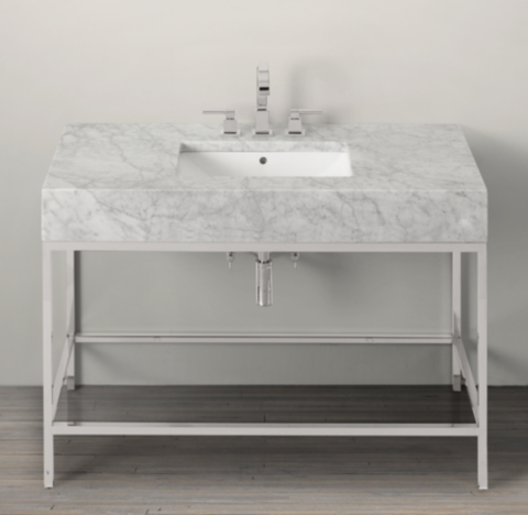 Hudson Metal Single ExtraWide Washstand