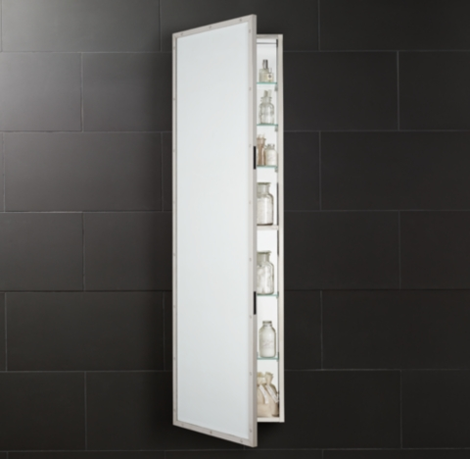 Rivet FullLength Medicine Cabinet