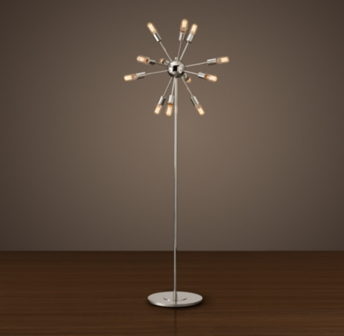 Sputnik Filament Floor Lamp