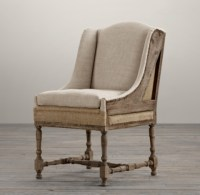 Deconstructed 19th C. Slope Arm Dining Chair