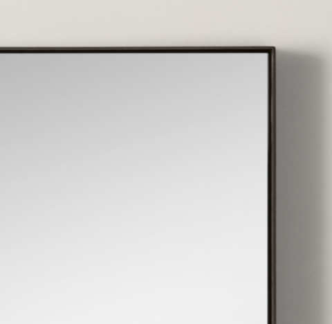 Metal Floating Mirror