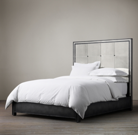 Strand Mirrored Bed