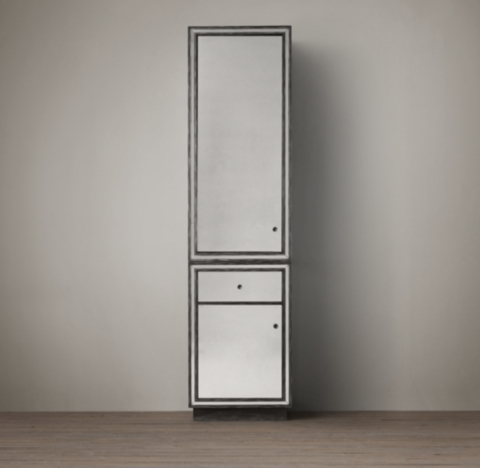 Strand Mirrored Tall Cabinet 84