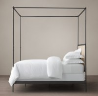 Iron Four Poster Bed - Home Design