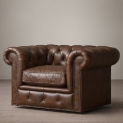 Kensington Leather Sofa Restoration Hardware Bed In Furniture Village Collection Rh Swivel Chair
