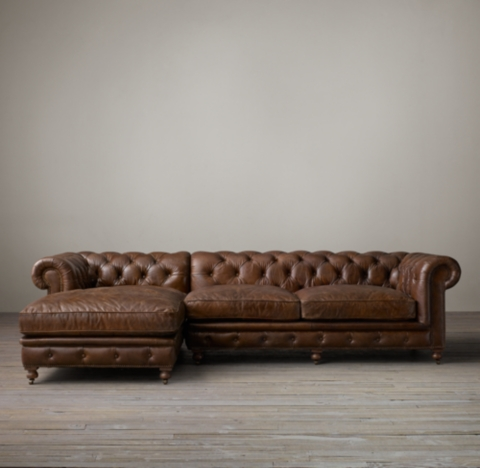 leather sectional sofa restoration hardware slipcover australia kensington sectionals rh 3 depths