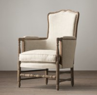 18th C. French Upholstered Bergere Chair