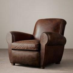 Leather Club Chairs For Sale Louis Chair Room And Board Parisian
