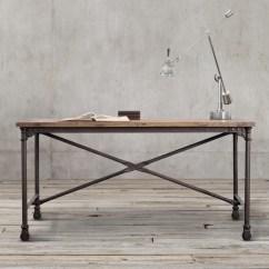 Wood Desk Chair No Wheels Office Guide Flatiron