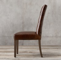 Bennett Parsons Leather Side Chair
