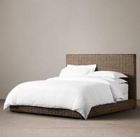 Antilles Rattan Bed