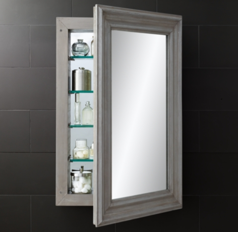Annecy MetalWrapped Medicine Cabinet