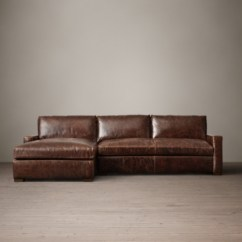 Left Arm Return Sofa Anaheim 2 Pc Leather Sectional W Queen Sleeper Preconfigured Petite Maxwell Left-arm Chaise