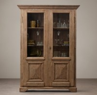 18th C. French Baroque Double-Door Bar Cabinet
