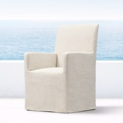 Dining Chairs Slipcovers Parson Overstock Belgian Slipcovered Outdoor Rh More Fabrics