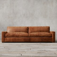 Down Feather Sofa Stickley Furniture Bed Maxwell Leather