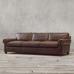 72 Lancaster Leather Sofa Sorrento Harveys Original