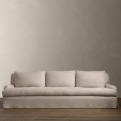 Restoration Hardware Sectional Sofa Linen Leather Slipcovers Sleeper Sofas Rh 2 Lengths