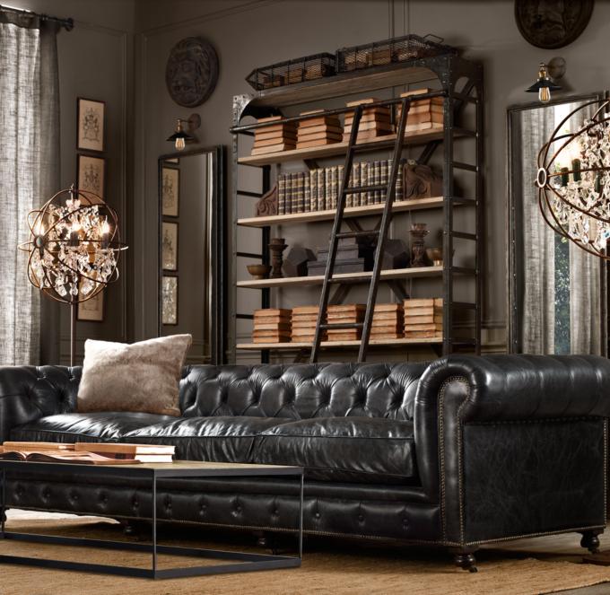 restoration hardware kensington sofa 106 lazy boy reese leather