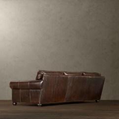 72 Lancaster Leather Sofa Peyton Set Original