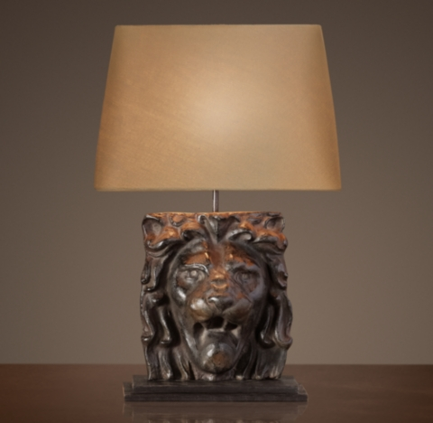 Ambient Table Lamp Lion's Head Table Lamp