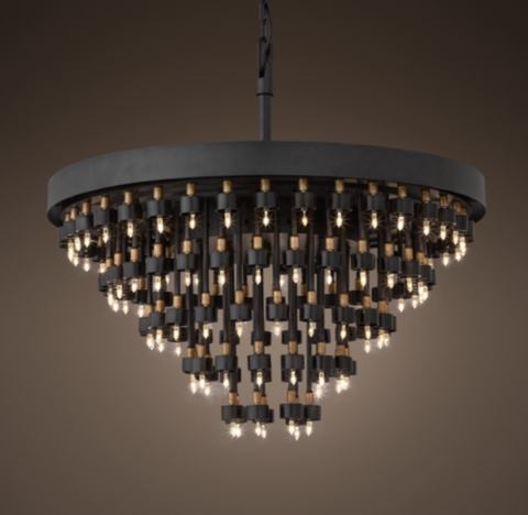 Cosmos 5Ring Chandelier