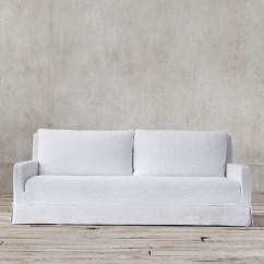 Luxe 2 Seat Sofa Slipcover Ben Til Sofabord Silvan 7' Aldrich Slipcovered