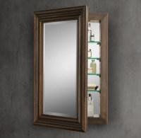 Annecy Metal-Wrapped Medicine Cabinet